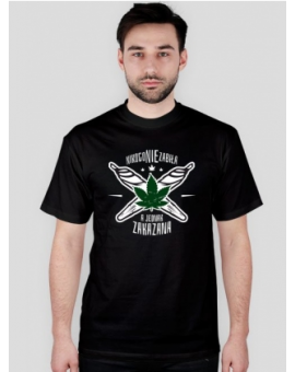 Koszulka NNZ Męska Czarna