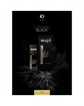 "PERFUMY ""WUJO BLACK CANNABIS"" 55 ML"