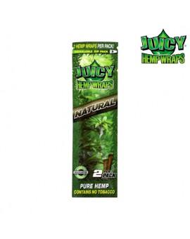 Smakowe Blunt Wrapy z liścia czystej konopi 2 szt. Juicy Jay Smak Naturalny - do nabycia tylko w sklepie stacjonarnym