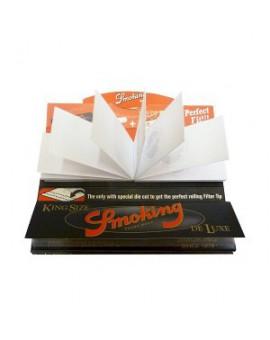 BIBUŁKI SMOKING KING SIZE DE LUXE + FILTRY