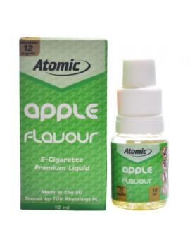 LIQUID ATOMIC || 10 ML || 12 MG || APPLE FLAVOUR