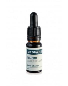 10% CBD naturalny olejek z ekstrakcji CO2 10ml