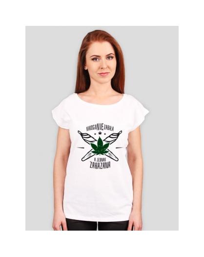 Koszulka NNZ Damska Biała