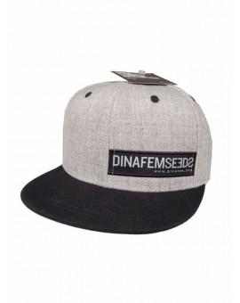 Dinafem Grey Flat Cap