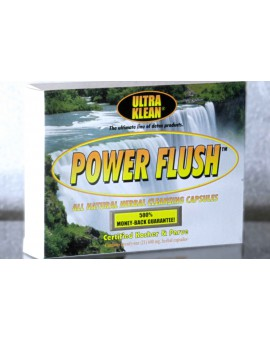 Power Flush - Neutralizuje substancje psychoaktywne w moczu