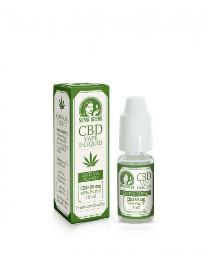 E-liquid Sensi Seeds CBD 50MG