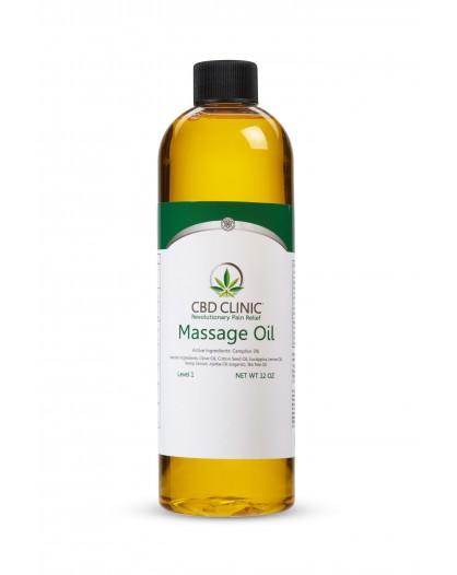 Olejek do masażu CBD Clinic 355ml