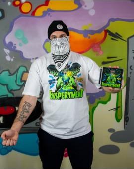 T-shirt Ciemna Strefa Eksperyment + Płyta Eksperyment Bonus RPK Arczi Szajka