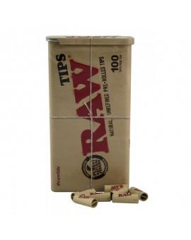RAW Pre-Rolled Tips w metalowej puszce 100szt