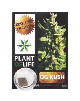 CBD Hash 3.8% OG Kush Plant Of Life
