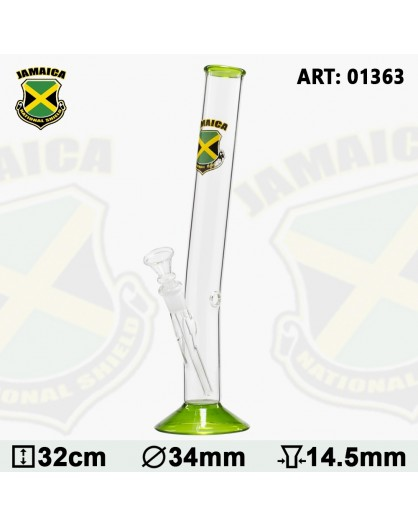 Country Hangover Glass Bong with Jamaica
