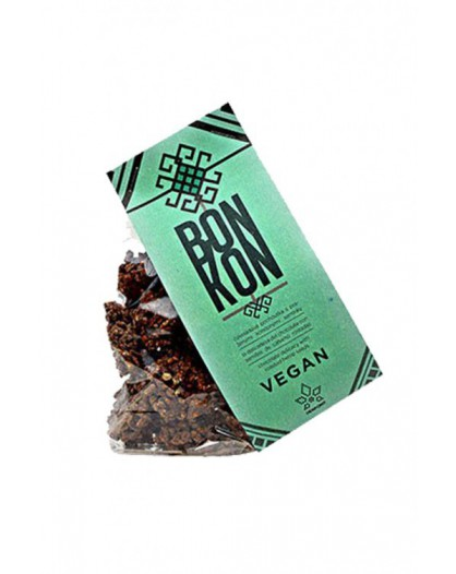 Wegański czekoladowo-konopny przysmak 100g