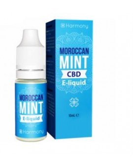 E-liquid Harmony Moroccan Mint z CBD- 10 ml