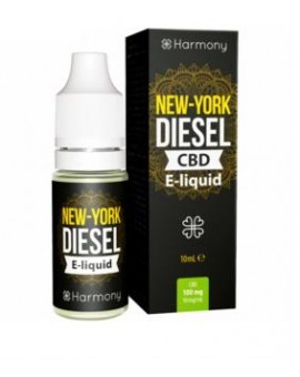 E-liquid Harmony New York Diesel z CBD- 10 ml