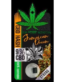 CBD Hash 9% Jamaican Dream 9% Euphoria