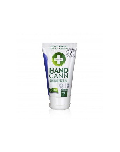 Krem z konopi do rąk z enzymem Q10 HandCann 75 ml