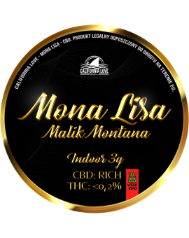 CBD Mona Lisa Malik Montana - California Love - 3g