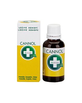 Olejek konopny CANNOL 30 ml