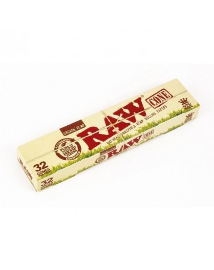 RAW Organic Hemp 32 Cones