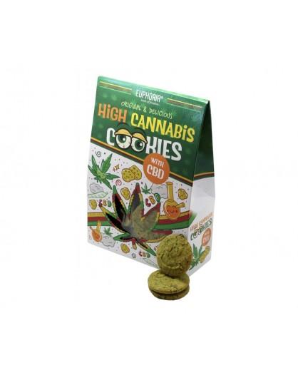 Ciastka konopne High Cannabis 100g