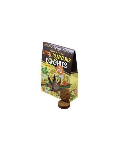 Ciastka konopne z czekoladą High Cannabis 100g