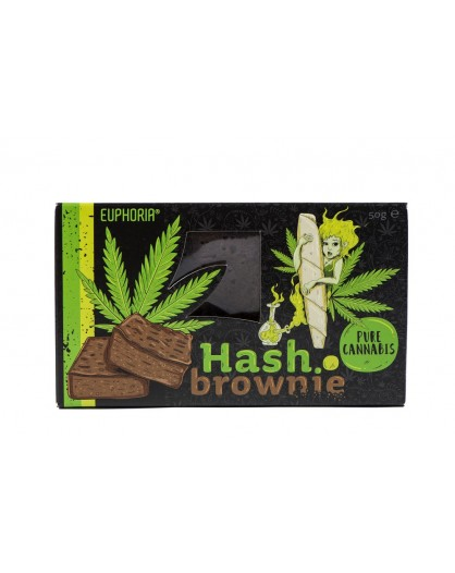 Hash Brownie Pure Cannabis Euphoria 50g