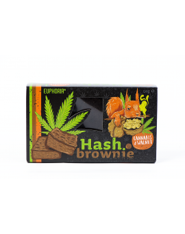 Hash Brownie Cannabis&Walnut Euphoria 50g