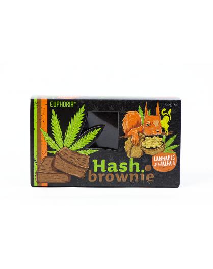 Hash Brownie Cannabis&Walnut Euphoria 50g