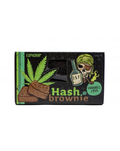 Hash Brownie Cannabis&Rum Euphoria 50g