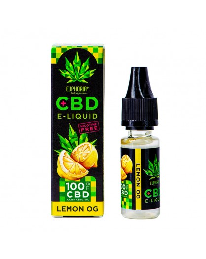 E-Liquid Lemon OG 100 mg CBD 10 ml