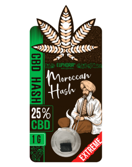 CBD Hash Moroccan 25% Euphoria