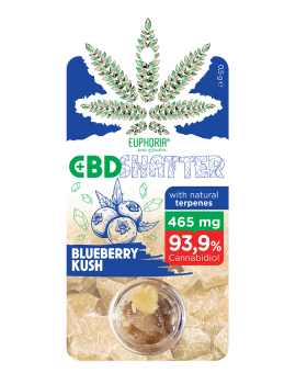 CBD SHATTER BLUEBERRY KUSH 465 mg CBD
