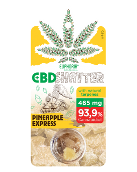 CBD SHATTER PINEAPPLE EXPRESS 465 mg CBD