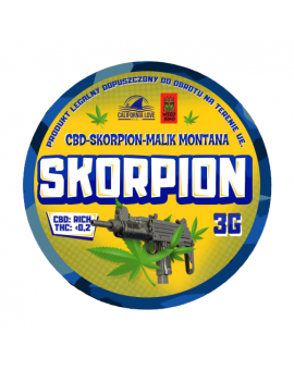 CBD Skorpion Malik Montana - California Love - 3g