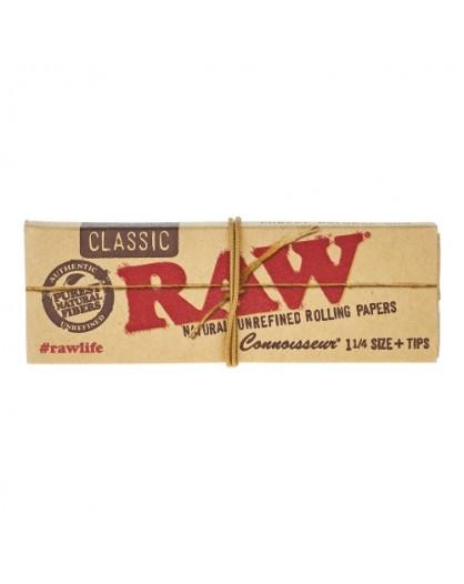 Bibułki RAW Connoisseur Classic 1 1/4