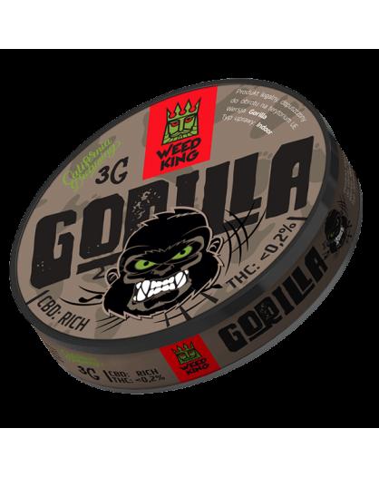 GORILLA SUSZ KONOPNY CBD WEED KING 3G