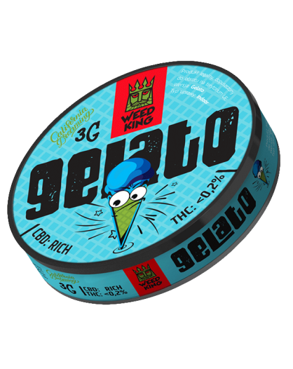 GELATO SUSZ KONOPNY CBD WEED KING 3G