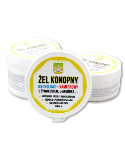 Żel konopny mentolowo - kamforowy 170 ml