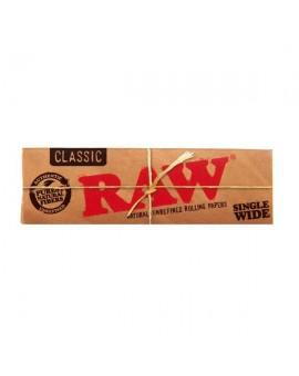 Bibułki RAW Single Wide Classic