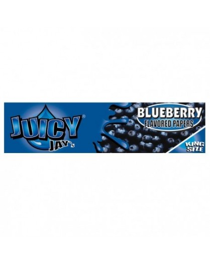 Bibułki smakowe Juicy Jay's Blueberry King Size Slim
