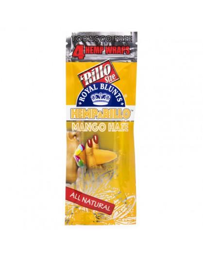 Smakowe Blunt Wrapy - Royal Blunts Hemparillo - Mango Haze 4szt.