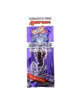 Smakowe Blunt Wrapy - Royal Blunts Hemparillo - Purple Haze 4szt.