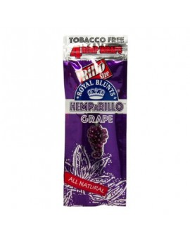 Smakowe Blunt Wrapy - Royal Blunts Hemparillo - Grape 4szt.