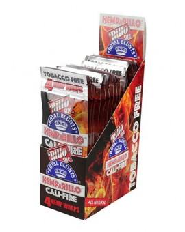 Smakowe Blunt Wrapy - Royal Blunts Hemparillo - Cali Fire 4szt.