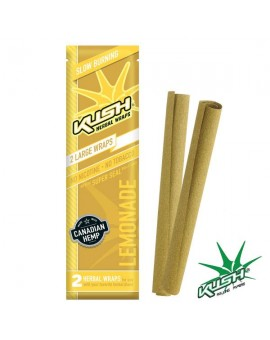 Smakowe Blunt Wrapy - KUSH Herbal Wraps - Lemonade 2szt.