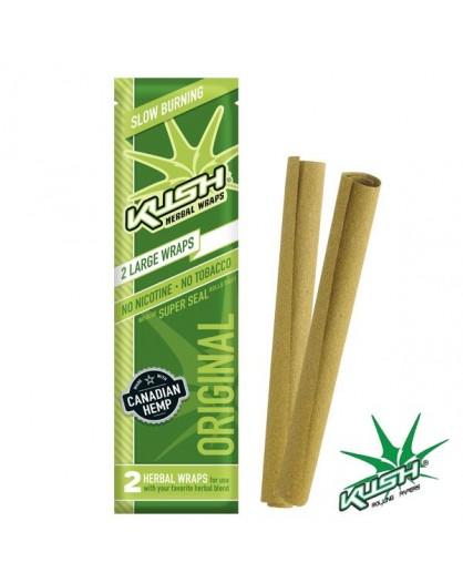 Smakowe Blunt Wrapy - KUSH Herbal Wraps - Original 2szt