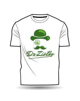 T-Shirt/Koszulka DrZiółko biała
