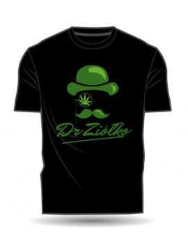 T-Shirt/Koszulka DrZiółko czarna