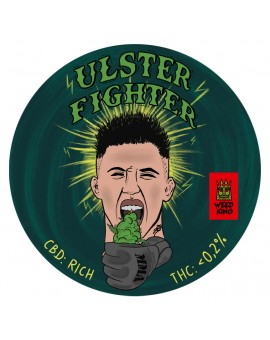 Ulster Fighter CBD Hemp Flowers by Norman Parke