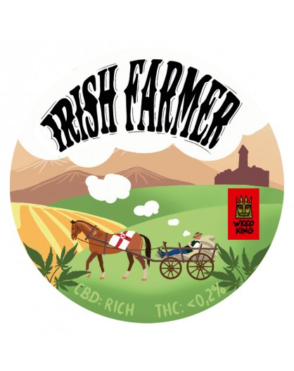 Irish Farmer CBD Hemp Flowers by Norman Parke